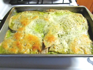 Fish Enchiladas with Poblano Sauce