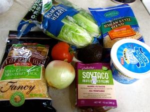 Vegetarian Taco Ingredients