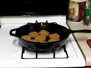Cooking Sausage
