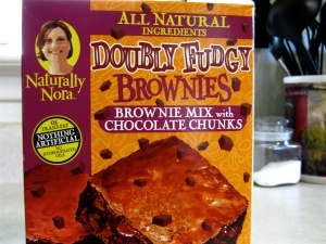 Naturally Nora Doubly Fudgy Brownie Mix
