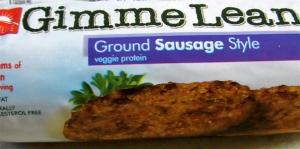 Gimme Lean Ground Sausage Style Veggie Protein