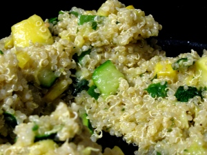 Quinoa, Squash, and Zucchini Salad