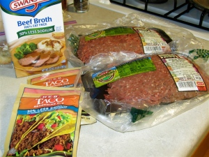 Beef Taco Ingredients