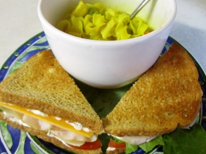 Soup and Sandwich Dinner