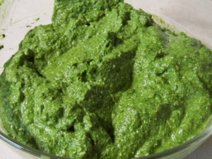Spinach Feta filling