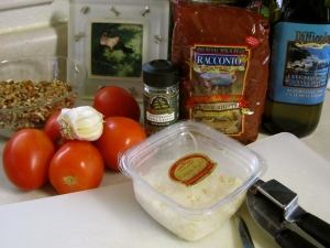 Tonight's Dinner Ingredients