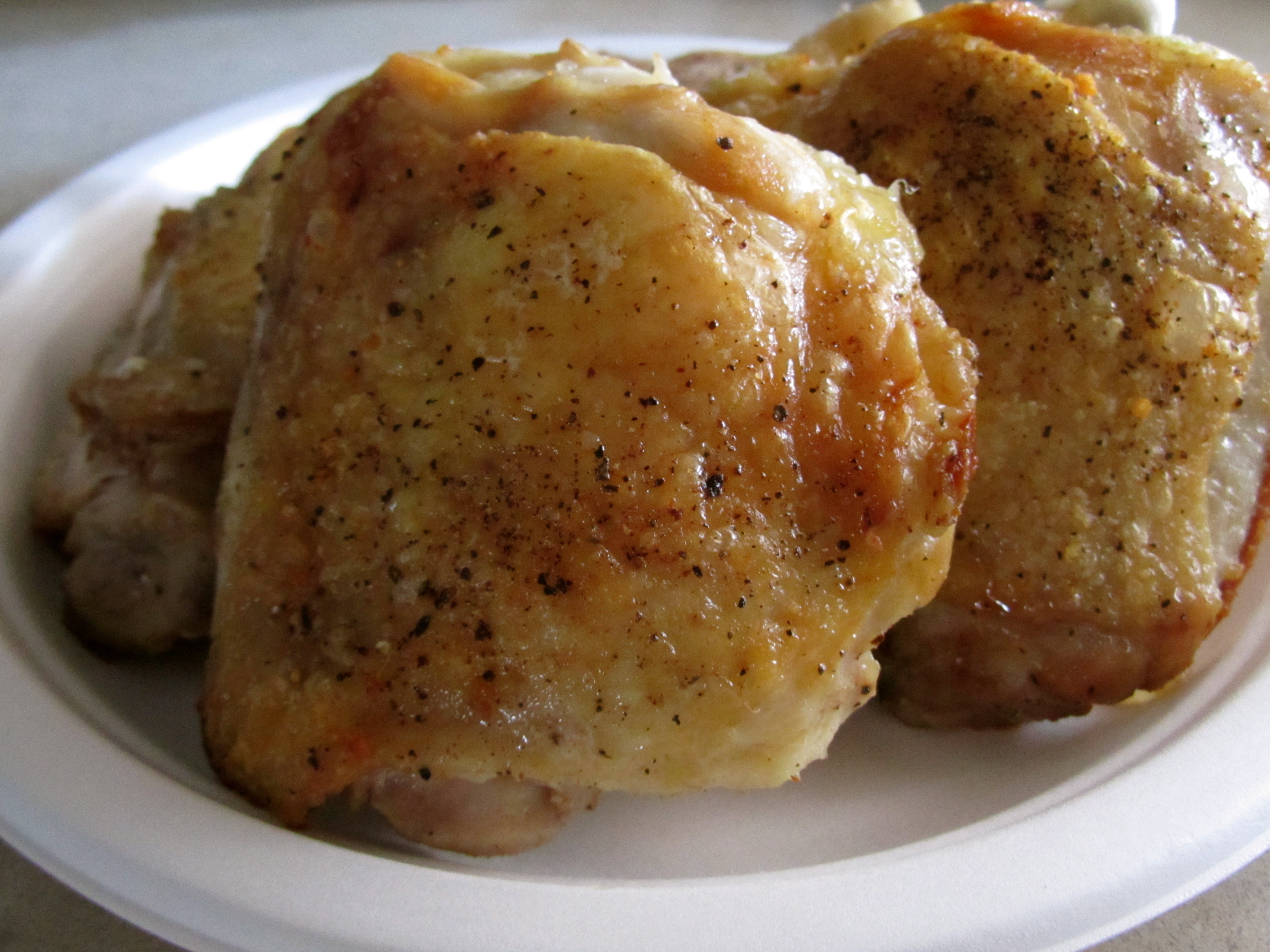 how to cook skinless chicken thighs in a pan