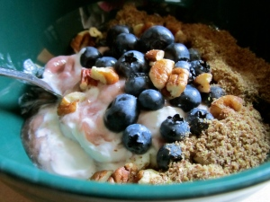 Blueberry Pecan Yogurt