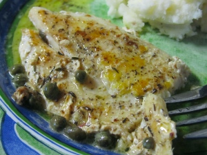 Lemon Sauced Dory 2