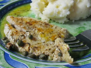 Lemon Sauced Dory